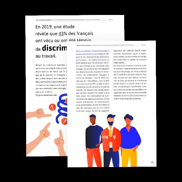 Livre blanc Égalité professionnelle : 8 pistes pour bâtir une organisation inspirante et source de croissance